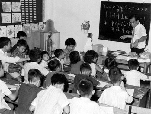 재베트남교포2세주베트남대사관에한글공부1