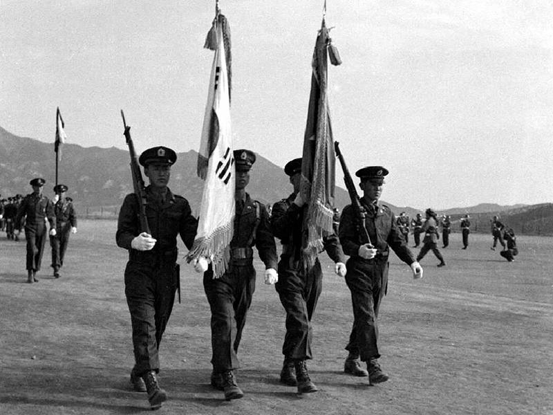 육군 사관학교 제11기 입학식 겸 재개교식 모습2