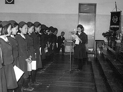 제8회 성심여자고등학교 졸업식2
