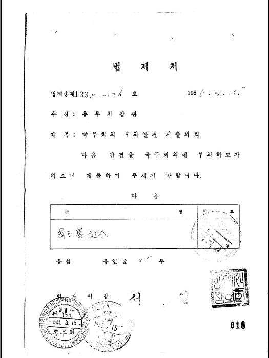 국립묘지령(안)(제23회)