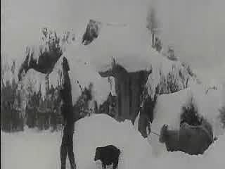 대관령 주민들의 겨울생활모습과 대관령의 겨울 전경