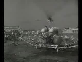 이런일 저런일(충북 제천 함암리 향군목장, 헬리콥터 공중방역, 고려합섬 이불솜 일본에 수출)