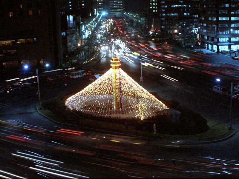 서울 시청앞 크리스마스트리