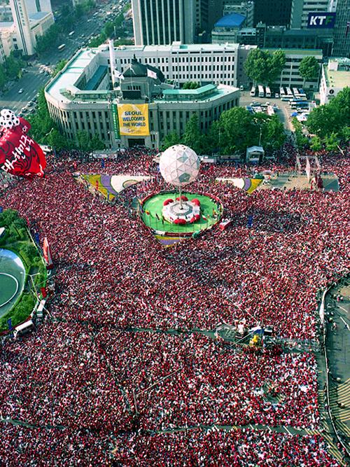 2002 FIFA 월드컵 국민응원 인파(한국-이탈리아)7