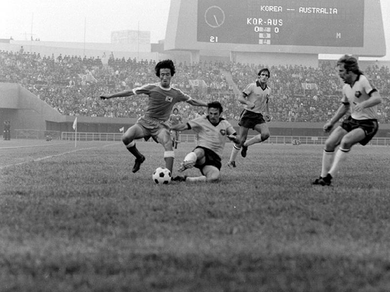 월드컵예선전축구경기.한국대호주8