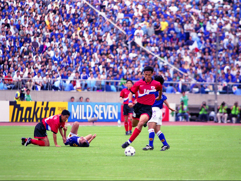 1998년 월드컵축구 아시아지역 최종예선 B조 경기