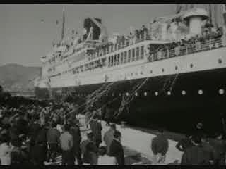 브라질 이민단 출항