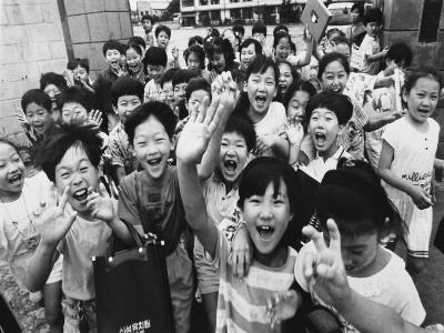 국민학교 여름방학 좋아하는 아이들