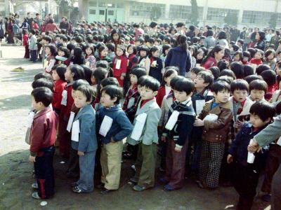 매동국민학교입학식6