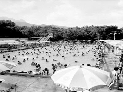 어린이대공원수영장전경