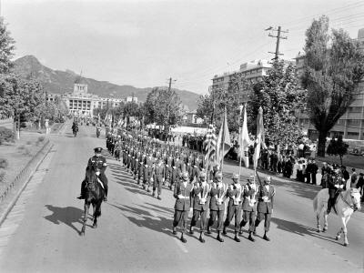 제16회유엔데이기념식시가행진