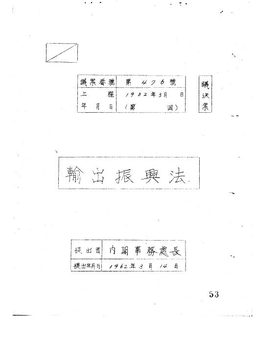 수출 진흥법(제20회)
