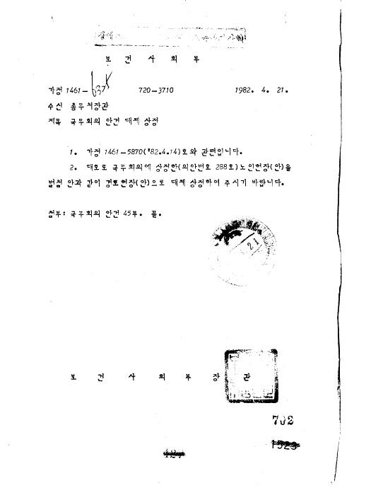경로 헌장안(제30회)